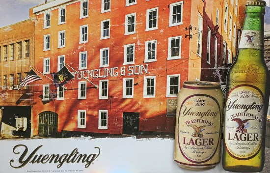 Yuengling beer ad