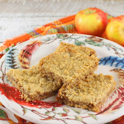 Apple Oatmeal Bars