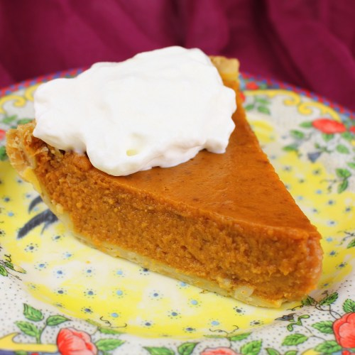 Traditional Pumpkin Pie