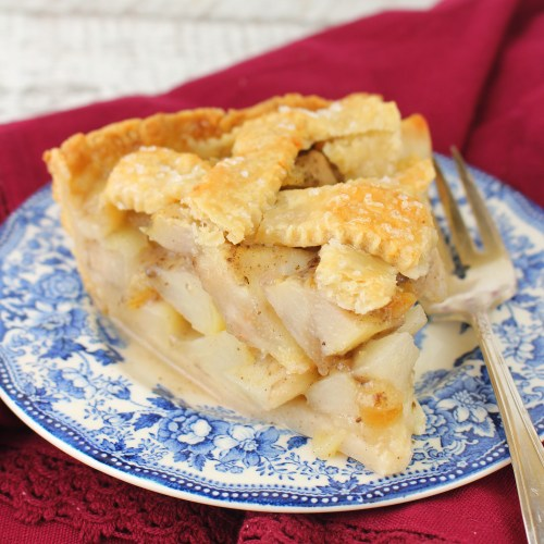 Gingered Pear Pie