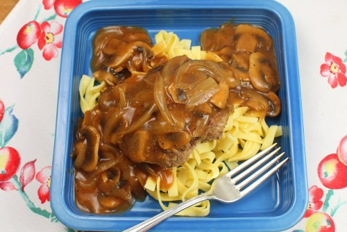Salisbury Steak with Noodles