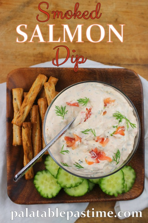 Smoked Salmon Dip for #SundaySupper