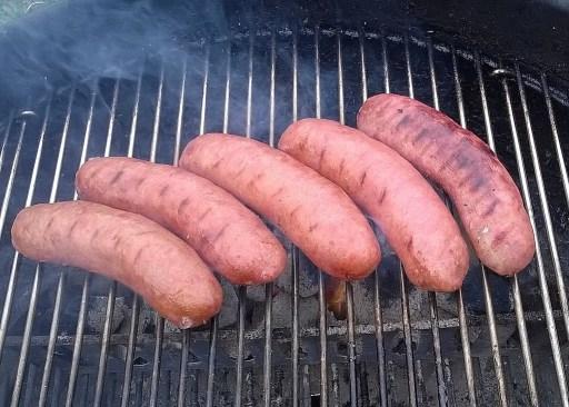 Get brats grilling