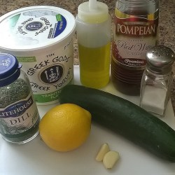 Tzatziki Dressing Ingredients
