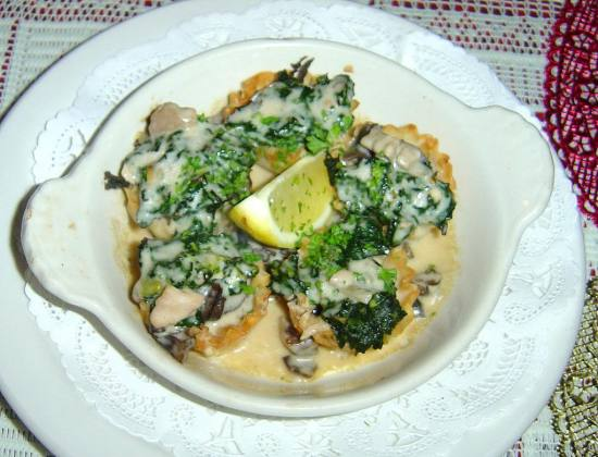 Escargot in Phyllo