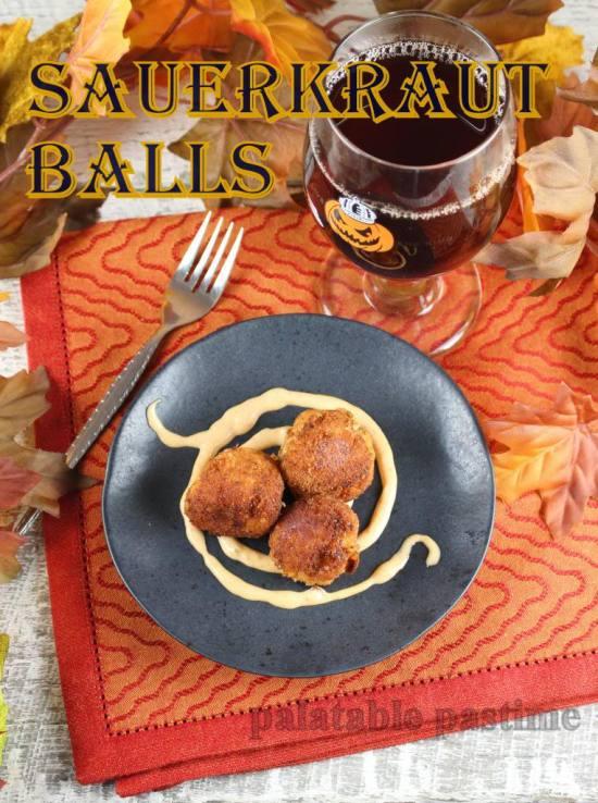 German Sauerkraut Balls