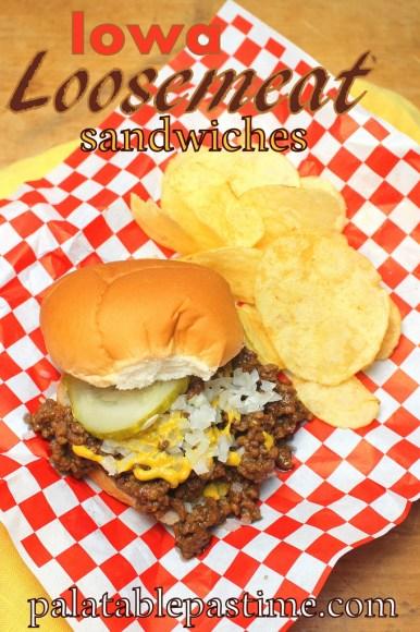 Iowa Loosemeat Sandwiches