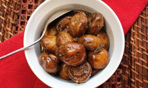 Italian Marinated Mushrooms