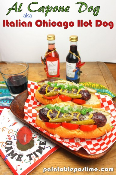 Al Capone Dog for #SundaySupper #GalloFamily