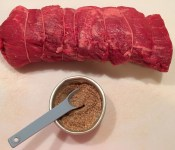 Beef Tenderloin Before Rub