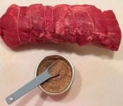 Beef Tenderloin Before Rub