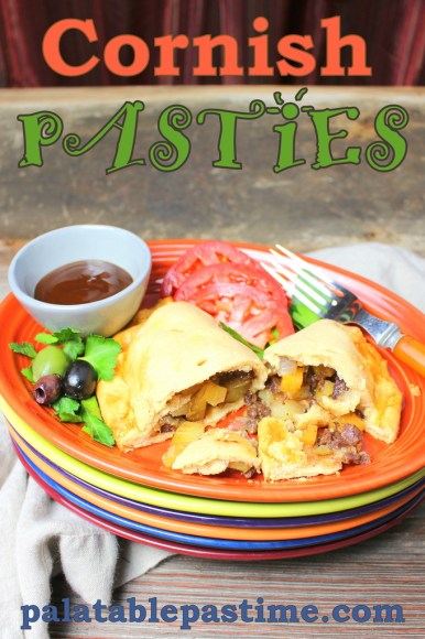 Cornish Pasties for #SundaySupper