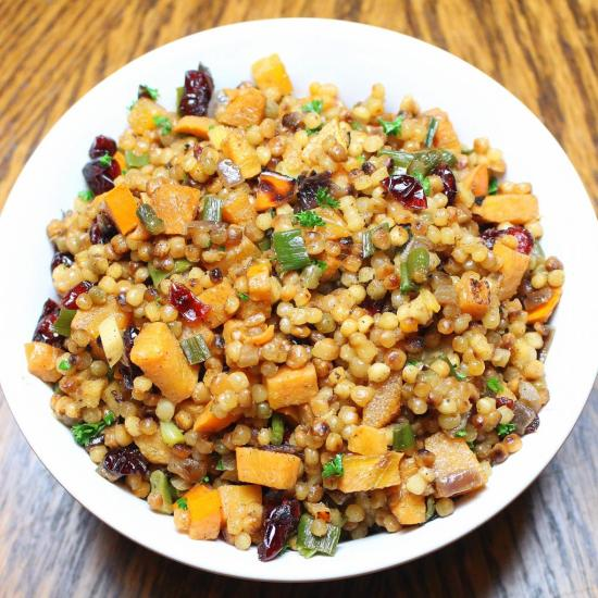 Cranberry Persimmon Couscous