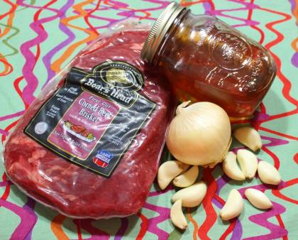 crock pot glazed corned beef ingredients