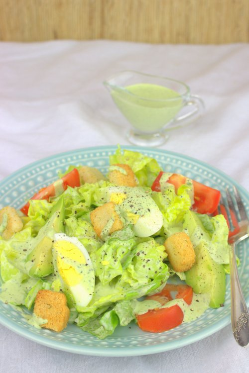 Green Goddess Bibb Salad