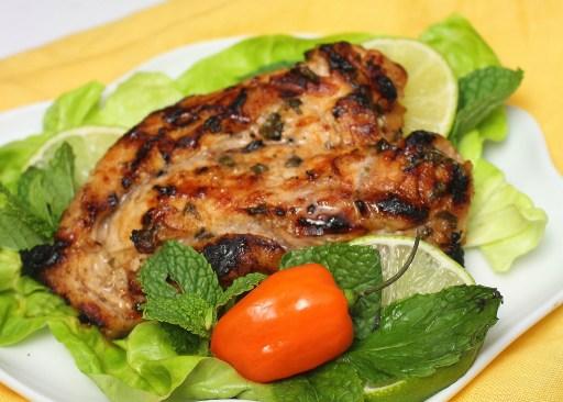 Grilled Mojito Chicken