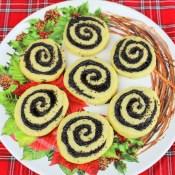 Hungarian Poppyseed Pinwheel Cookies