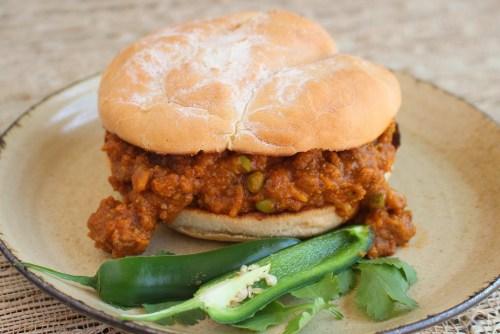 Kheema Pav Sandwiches - Indian Sloppy Joes
