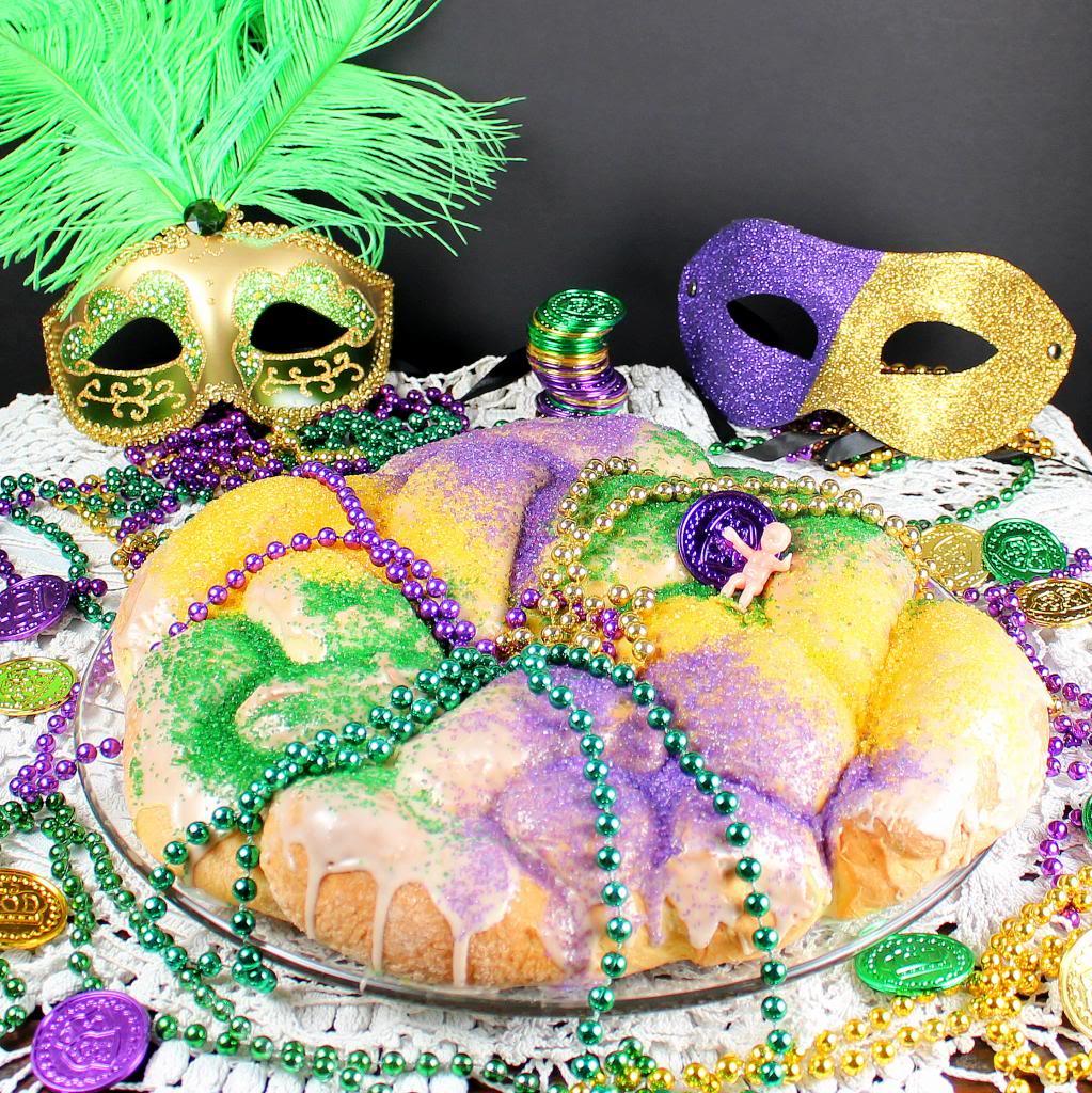 Mardis Gras King's Cake