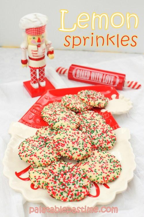 Lemon Sprinkles