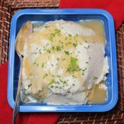 Mashed Roasted Cauliflower