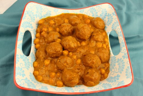Meatball and Chickpea Curry (Kofta Choley)