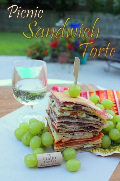 Picnic Sandwich Torte #SundaySupper