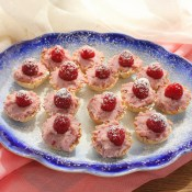 Raspberry Mascarpone Mini Tarts