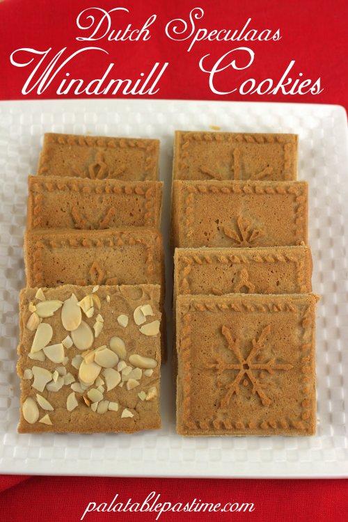 Dutch Speculaas Cookies (Windmill Cookies)
