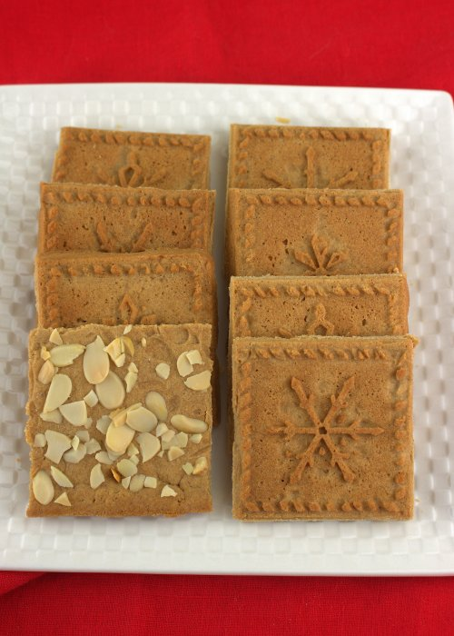 Dutch Speculaas Cookies (Windmill Cookies)