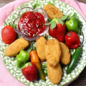 Strawberry Ghost Pepper Dipping Sauce