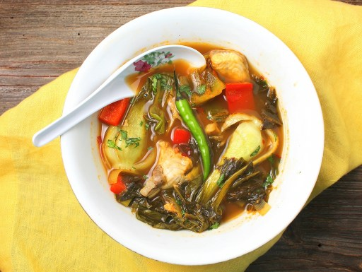 Suan Cai Yu: Szechuan Hot and Sour Fish Soup