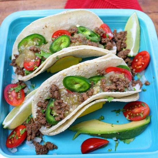 Taqueria Style Tacos