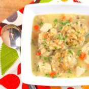 Turkey and Dumpling Soup