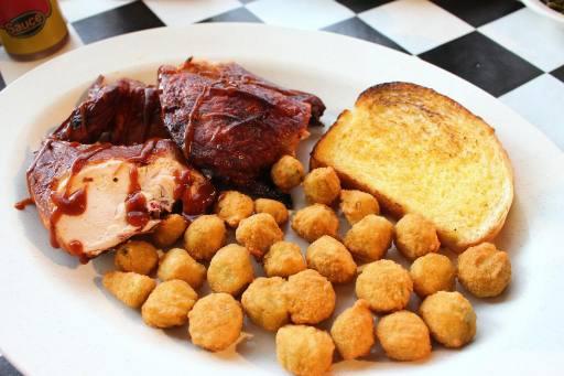 Half BBQ Chicken Platter