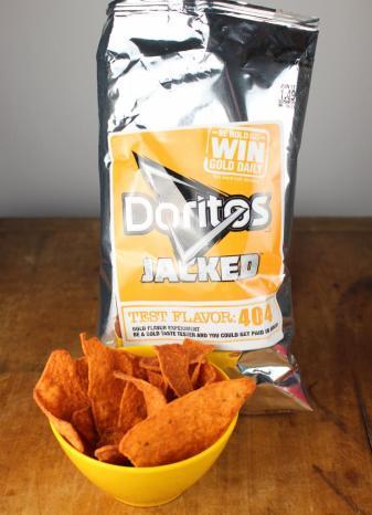 Doritos Jacked Test Flavor 404
