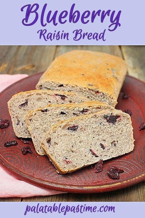 Blueberry Raisin Bread
