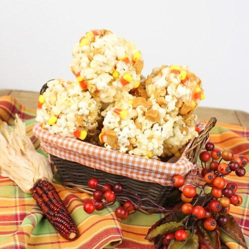 Candy Popcorn Balls