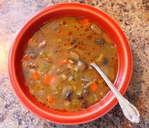 Crockpot Beef Barley Soup