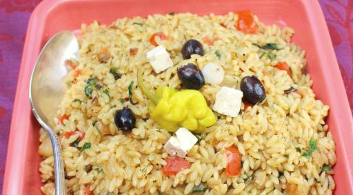 Greek Lemon-Herb Orzo