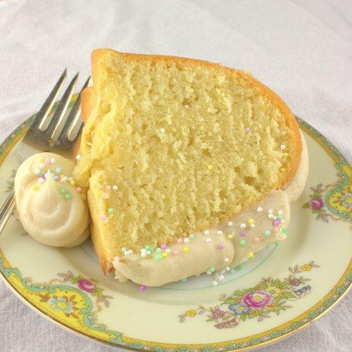 Lemon Bundt Cake with Cream Cheese Frosting