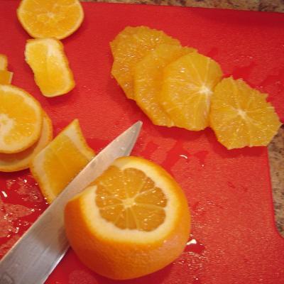 Peeling Oranges