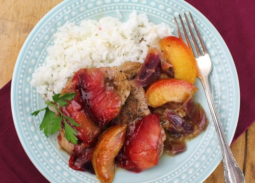 Porkwith Gingered Pluots