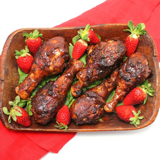 Strawberry Barbecue Chicken
