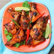 Spicy Thai Chicken Wings