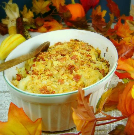 Buffalo Style Cauliflower Gratin