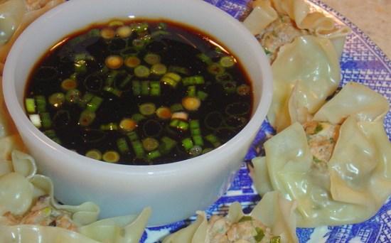 pot sticker or dumpling sauce