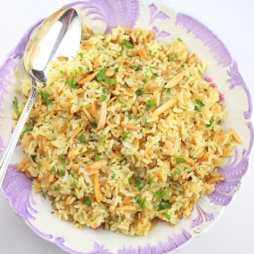 Rice Pilaf Amandine
