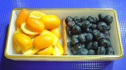 Blueberries and Kumquats