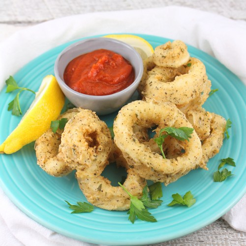 Garlic Fried Calamari